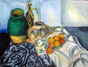 Using Cezanne still lifes as a teaching tool