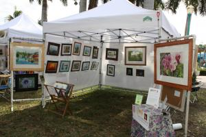 Exhibiting At Artists In The Park, Delray Beach